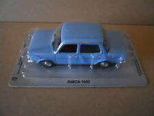 Legendary Cars SIMCA 1000 BLU Die Cast 1:43 [MV28]