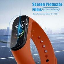3pcs Tempered Glass 9H 2.5D Screen Protector Clear Films for Xiaomi Mi Band 4