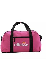 Ellesse Ladies Holdall GYM Weekend Bag Holiday Easy Carry Shoulder BAG - Pink UK