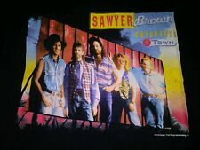 Vintage 1993 Sawyer Brown Outskirts Of Town Country Music Concert Tour Shirt L