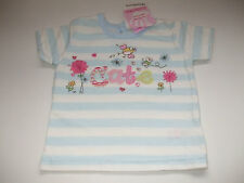 NEWBORN BABY T SHIRT FOR BABY GIRL BRAND NEW WITH TAGS FROM CHEROKEE