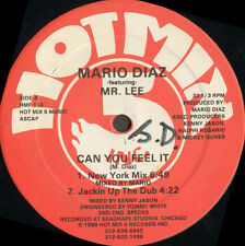 MARIO DIAZ - Can You Feel It - Feat Mr. Lee - 1988 Hot Mix 5 Usa - HMF 113