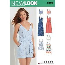 NEW LOOK sewing pattern manque les jupes avec longueur variations Taille 8 - 20 6493