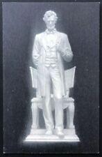 Abraham Lincoln Saint-Gaudens Memorial Cornish NH Ward Photographer Postcard