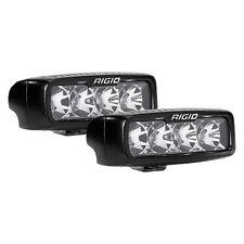 RIGID 905113 SR-Q Series PRO LED Light Pod Single Row Flood Projection Pair x2