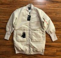 Nike Sportswear NSW Insulated Long Parka Jacket 932049-221 Women's Size Medium