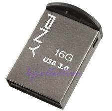 PNY M3 16GB 16G USB 3.0 Flash Pen Drive Memory Micro Metal Nano Super Mini Tiny