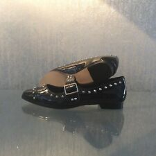 Office Black studded shoes size 7