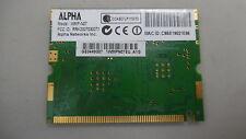 ALPHA WMP-N07 Mini PCI Wifi Wireless Support B G N - U.FL