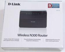 D-Link DIR-615 /K/R1A 4-port Wireless N 300Mbps WiFi Broadband Router Retail NEW