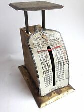 ANTIQUE POSTAL SCALE WEIGHT WATCHERS GIVE AWAY?