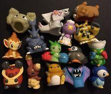 15 X Bandai Hollow Pokemon Figures Finger Puppet Palkia Chimchar Raichu Piplup