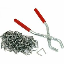 100 Pcs Hog Ring Pliers Upholstery0 Clip Fasteners Tools Kit