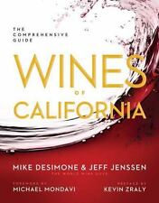 Wines of California: The Comprehensive Guide-ExLibrary