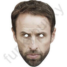 Gareth Southgate Celebrity Card Football Manager Mask - All Masks Are Pre-Cut!