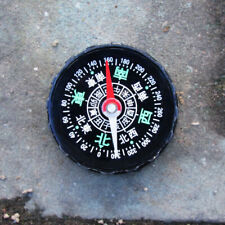 Mini Pocket Compass 44mm Diameter in Chinese Language!! Fung shui , Hiking