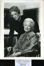 Bette Davis PSA DNA Cert Hand Signed 8x10 Photo Autograph