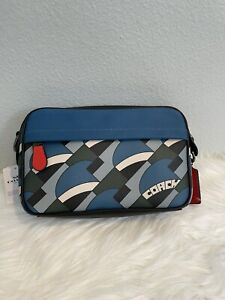 Coach NWT 1976 Graham Crossbody With Deco Bridge Print