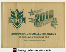 FACTORY CASE! Select 2010 NRL CHAMPIONS CARD FACTORY CASE (12 BOXES + CASE CARD)