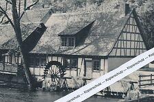 Blaubeuren - Blautopf - Hammerschmiede - um 1965
