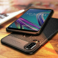For Asus Zenfone Max Pro M2 M1 L1 Shockproof Leather Case Soft TPU Cover Shell