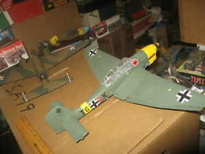 Pro Built Junkers Stuka Ju-87 Dive Bomber in 1/32 scale - Awesome!