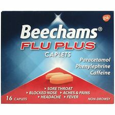 Beechams Flu Plus Caplets - 16 Caplets