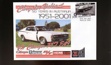 50th ANNIVERSARY OF CHRYSLER VALIANT IN AUSTRALIAN SOUV COVER, VH E49 CHARGER