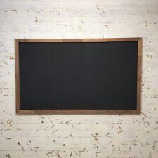 Big Rustic Wall Hung Chalkboard, 150x90cm Wooden Menu Board Wooden Blackboard.