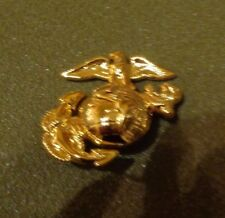 U.S.MARINE CORPS ENLISTED CAP EMBLEM, EAGLE GLOBE AND ANCHOR, ,SCREW BACK