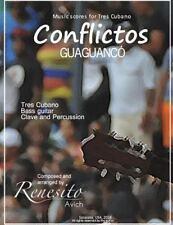 Music Scores for Tres CUbano: Conflictos : (Guaguancó)Tres Cubano, Bass...