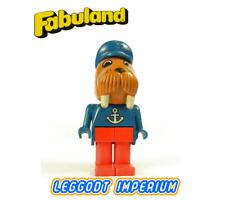 LEGO Fabuland Walrus - rare minifig fab12g FREE POST