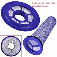 HEPA Post & Pre Filter Replacement For Dyson DC41, DC65 DC66 Animal Ball Vacuum