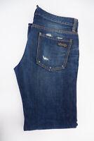 """Dsquared2 DS2 Mens Slim Fit Jeans, W34"""" Size 50, L32"""" Demin Blue, VGC"""