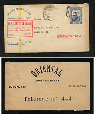 Angola  nice ad cover front and back  to  US                  KL0228