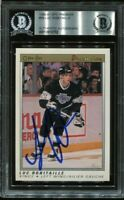 LA KINGS HOF LUC ROBITAILLE signed autographed 1990-91 OPC PREMIER CARD BECKETT