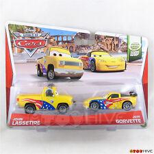 Disney Pixar Cars Jeff Gorvette and John Lassetire WGP collection #5 #6 of 15