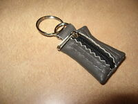 100% REAL GENUINE LEATHER SMALL KEYRING KEY POUCH PURSE WALLET ACCESSORIES