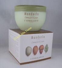 L'ERBOLARIO Crema x il corpo profumo MANDORLA 300ml Almond cream body
