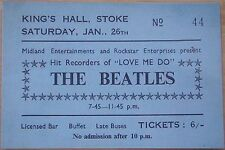 ♫ THE BEATLES 1961 1962 1963 Repo Concert Tickets 11 different tickets ♫