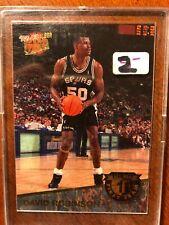 David Robinson 92-93 FLEER ULTRA ALL NBA FIRST TEAM INSERT #3 of 15 Spurs NrMnt