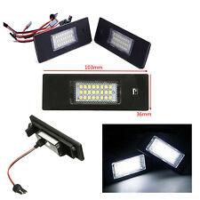 Luces de matrícula led para Bmw E81 E87 iluminación blanca plafones homologados