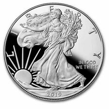 coin american piece 1 oz 29 g Argent fine silver LIBERTY EAGLES ONE DOLLAR 2019