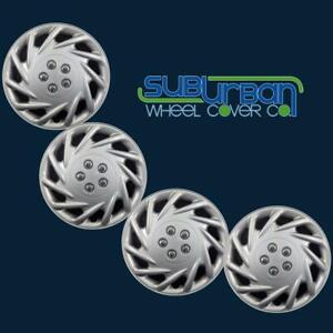 """UNIVERSAL - FITS MOST CAR STEEL WHEELS 15"""" Hubcaps Wheel Covers # 118-15S SET/4"""
