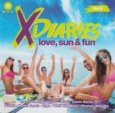 Various - X-Diaries Vol. 6 - Love, Sun & Fun - 2 CDs -