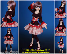 ☆~ Jey-JEY STYLE ROSA ~☆ SPECIAL 3pc. OUTFIT ☆ [UNOA/narae] ☆ bjd doll MSD ☆ by Anita. N ☆