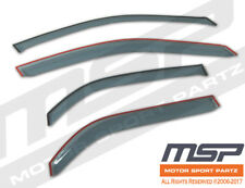 Out Channel Visor Wind Deflector Light Tint For Chevy Sonic Hatchback 12-16 4pcs