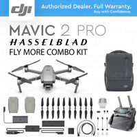 "DJI MAVIC 2 PRO with HASSELBLAD Camera. 20 MP 1"" Sensor HDR + FLY MORE COMBO KIT"