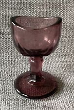 *RARE* ANTIQUE PURPLE AMETHYST GLASS FANCY BEVELED EYE WASH CUP