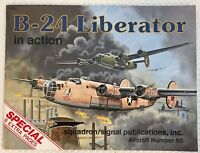 B-24 Liberator In Action Squadron/signal Publications #80 8 Extra Pages